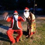 Santa at Gapuwiyak